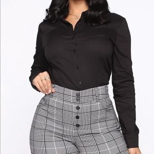 Fashion Nova button Down